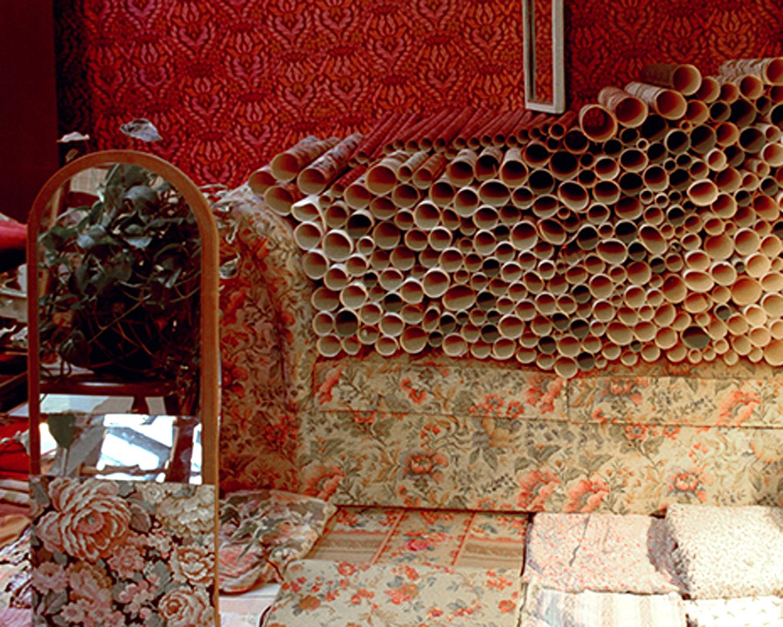 Chamberscape, installation, Rijksakademie Open Studios 2001-tn2